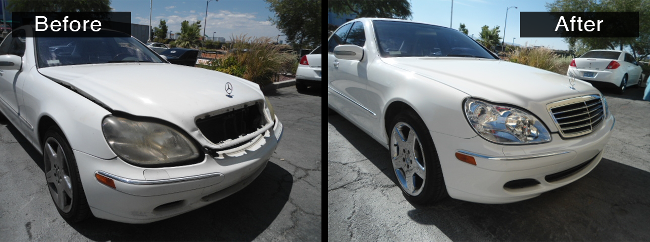 Certified mercedes body shop pro collision center for Mercedes benz body repair