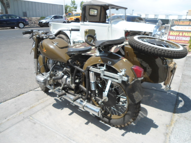 russian world war 2 motorcycle