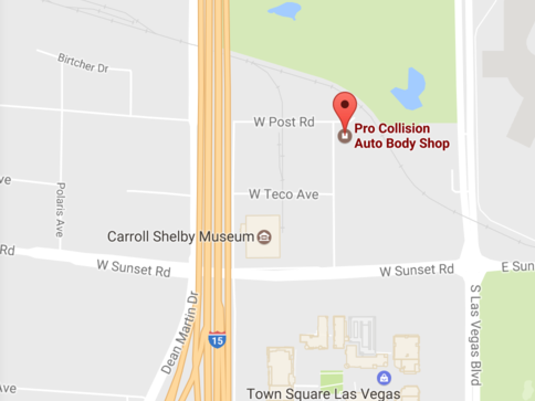 directions to pro collision center