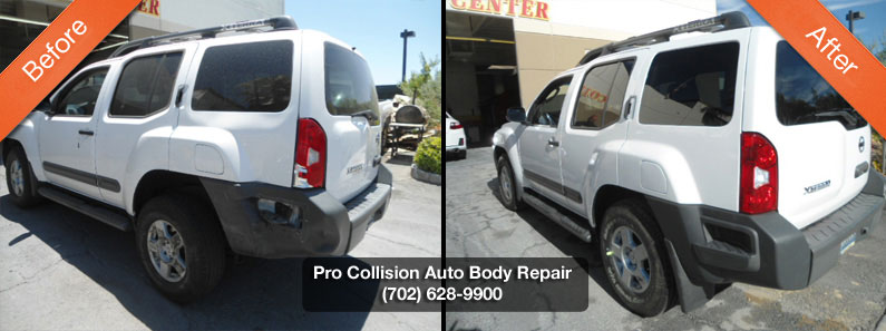 nissan auto body shop
