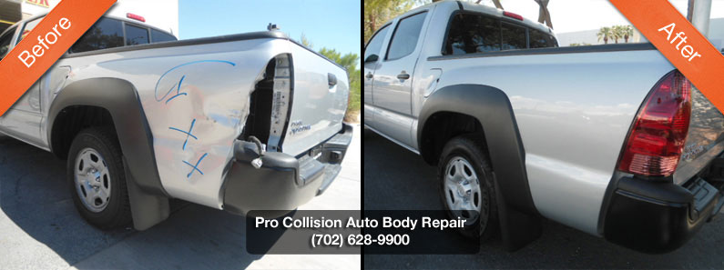 toyota body shop tacoma before after