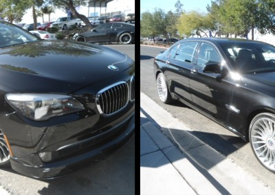 bmw 750i auto body repair