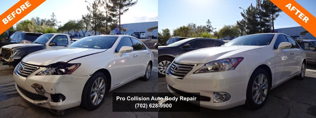 Kia Collision Center Las Vegas >> Examples of Auto Body Repair | Pro Collision Center