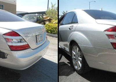Mercedes Before After